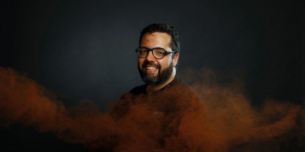 Portrait de Sébastien Papion, artisan chocolatier